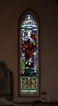 The Ascension of Christ by Meikle Stained Glass Studio, Toronto