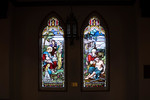 Christ Blessing the Children; The Good Samaritan (Two windows) by N.T. Lyon Company, Toronto