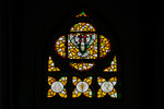 Symbols of Our Faith: Golden Window (The Sacraments of Baptism and the Eucharist) by Christopher Wallis