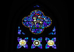 Symbols of Our Faith: Blue Window (The Birth, Passion and Victory of Christ) by Christopher Wallis