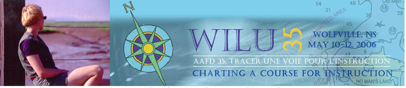 WILU 2006: Charting a course for instruction