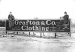 Grafton & Co. Clothing billboard by Western University