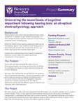 Uncovering the neural basis of cognitive impairment following hearing loss: an all-optical electrophysiology approach by BrainsCAN, Western University; Brian Allman; and Wataru Inoue