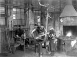 London Street Railway repair shop with Bill and Vera Constable