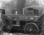 London Fire Department hose wagon