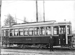 London Street Railway streetcar by Western University