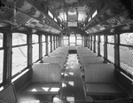 London Street Railway streetcar interior by Western University