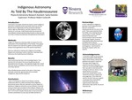 Indigenous Astronomy as told by the Haudenosaunee