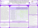 Examining Indigenous Learner Recruitment and Retention Strategies through an Environmental Scan of Canadian Medical Schools by Sebastian Deagle