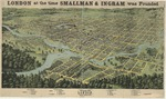 London at the time Smallman & Ingram was founded: Bird's eye view of London, Ontario, Canada, 1872.