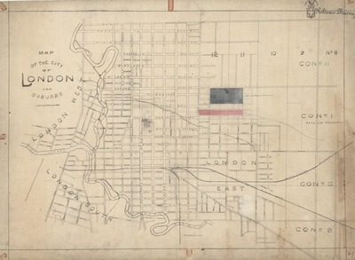 Map City London.London Ontario Historical Maps Digitized Special Collections