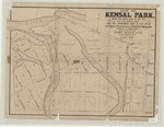 Map of Kensal Park, being the south half of Lot No. 5, west of the Wharncliffe Highway, and the northerly part of Lot No. 33, in the Broken Front Concession, Township of Westminster, County of Middlesex, and laid out into lots for John Kent, Esq., by R.P. Fairbairn, P.L.S.