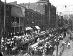 Royal Canadian Regiment parade