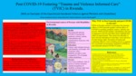 """Post COVID-19 Fostering """"Trauma and Violence Informed Care"""" (TVIC) in Rwanda"""