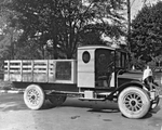 Barton & Rumble Truck, Edward Adams and Co. wholesale grocers by Western University