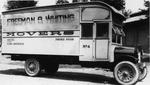 Barton & Rumble truck,  Freeman & Whiting Movers