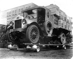 Barton & Rumble truck, McClary's promotional stunt
