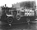 Barton & Rumble truck, McClary promotional stunt 2