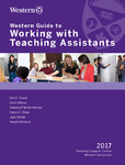 Western Guide to Working with Teaching Assistants by Erin E. Fraser, Kevin Morse, Natasha Hannon, Karyn Olsen, and Nanda Dimitrov