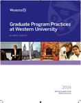 Graduate Program Practices at Western University by Gloria J. Leckie