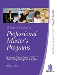 Western Guide to Professional Master's Programs by Gloria J. Leckie