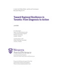 Toward Regional Resilience in Toronto: From Diagnosis to Action