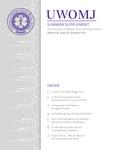 UWOMJ Volume 82, Supplement S1, Summer 2013