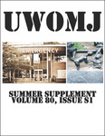 UWOMJ Volume 80, Supplement S1, Summer 2011