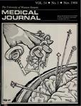 UWOMJ Volume 54, Number 1, November 1984