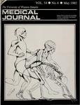 UWOMJ Volume 54, Number 4, May 1985