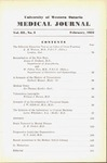 UWOMJ Volume 3, No 3, February 1933