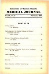 UWOMJ Volume 4, No 3, February 1934