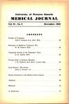 UWOMJ Volume 4, No 2, December 1933
