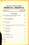 UWOMJ Volume 8, No 2, January 1938