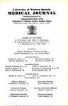 UWOMJ Volume 10, No 1, November 1939