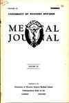 UWOMJ Volume 11, No 1, November 1940