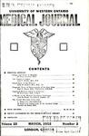 UWOMJ Volume 22, Number 2, March 1952