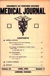 UWOMJ Volume 22, Number 3, June 1952