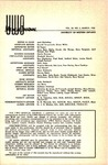 UWOMJ Volume 35, Number 3, March 1965