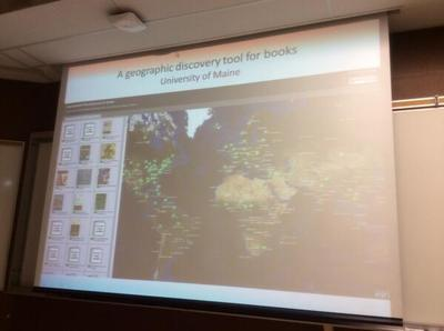 Geographic Discovery Tool for Books
