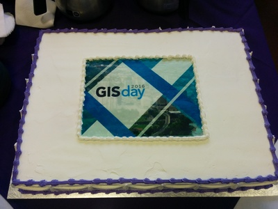 GIS Day 2016 Cake