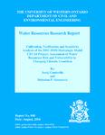 Calibration, Verification and Sensitivity Analysis of the HEC-HMS Hydrologic Model